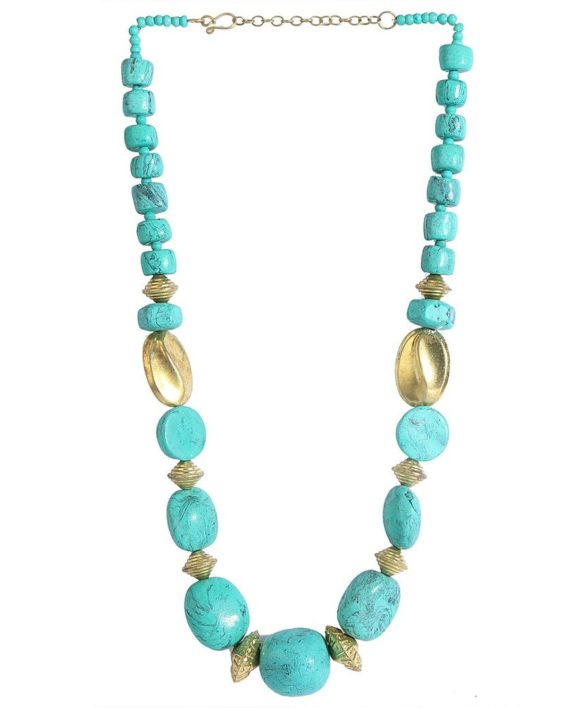 Beachy Turquoise Necklace For Women