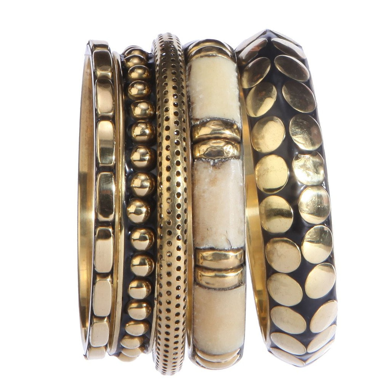antique store bangles swasam pearl indian plated metal com gold jewelry