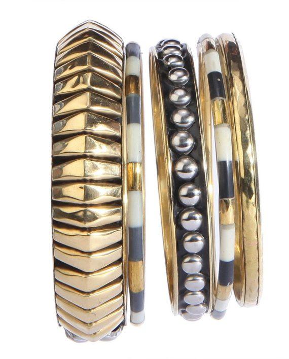 Brass Trendy Bangle For Women