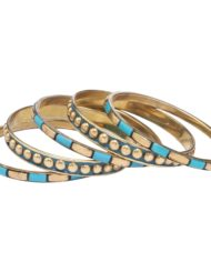 SUMMER SPECIAL TURQ BANGLE SET1